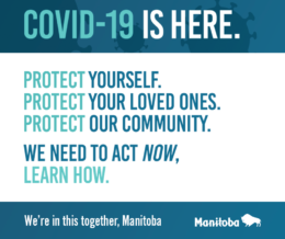 WE'RE IN THIS TOGETHER, MANITOBA!