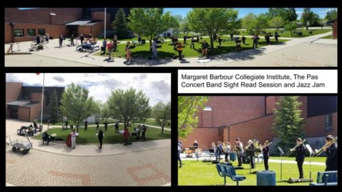 Margaret Barbour Collegiate Institute, The Pas Concert Band Sight Read Session + Jazz Jam
